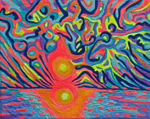 Psychedelic Sunset