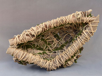 Driftwood Basket and Moss #3