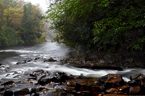 River in the Poconos