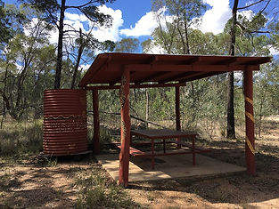 Yuleba Rock Wells picnic area