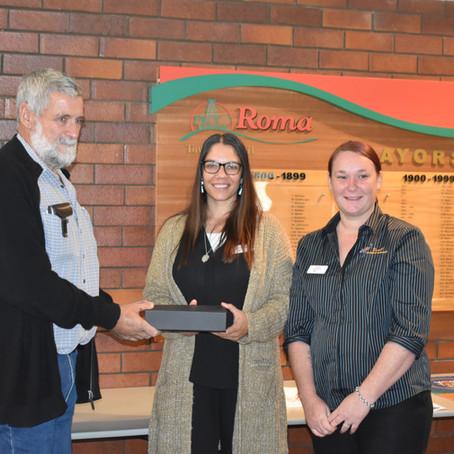 SAC receives NAIDOC Person/Organisation of the Year Award