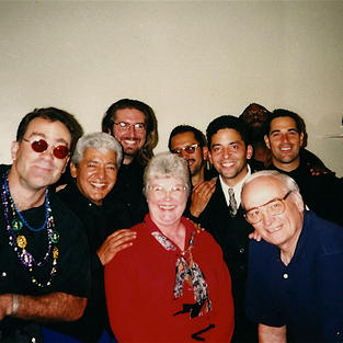 The Pete Escovedo Orchestra with my in laws.