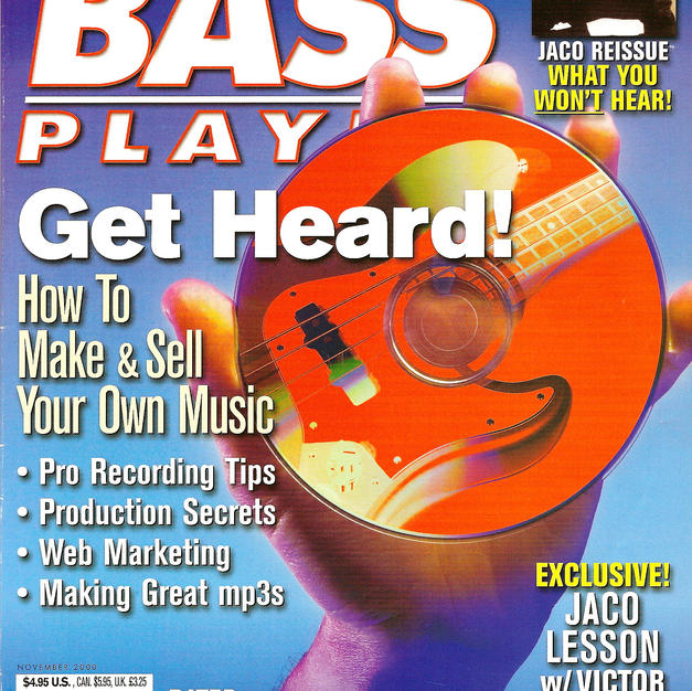 My interview in Bass Player Magazine