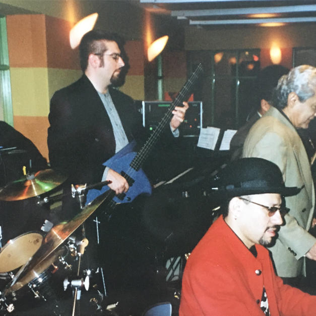Withe the Pete Escovedo Orchestra 1997