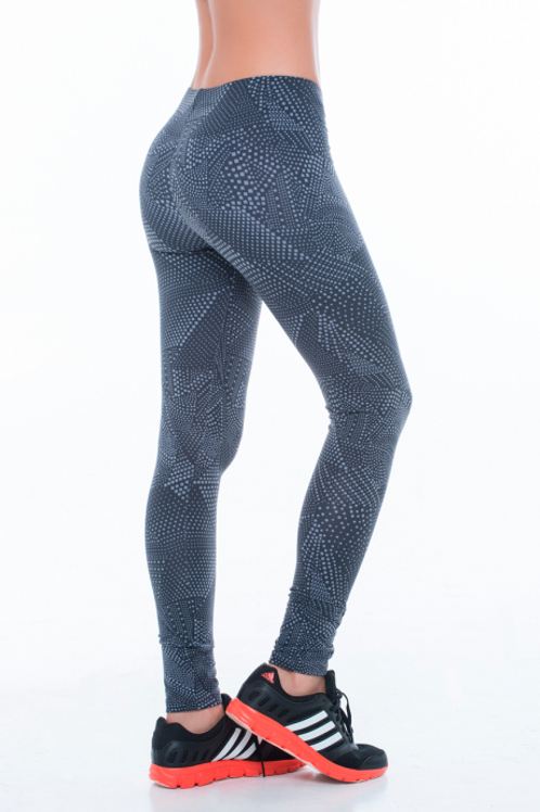 GREY PRINTED LEGGINGS