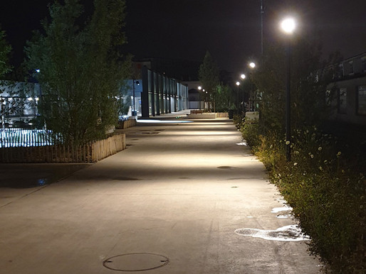 Réglages nocturnes à Chêne-Bourg, canton de Genève