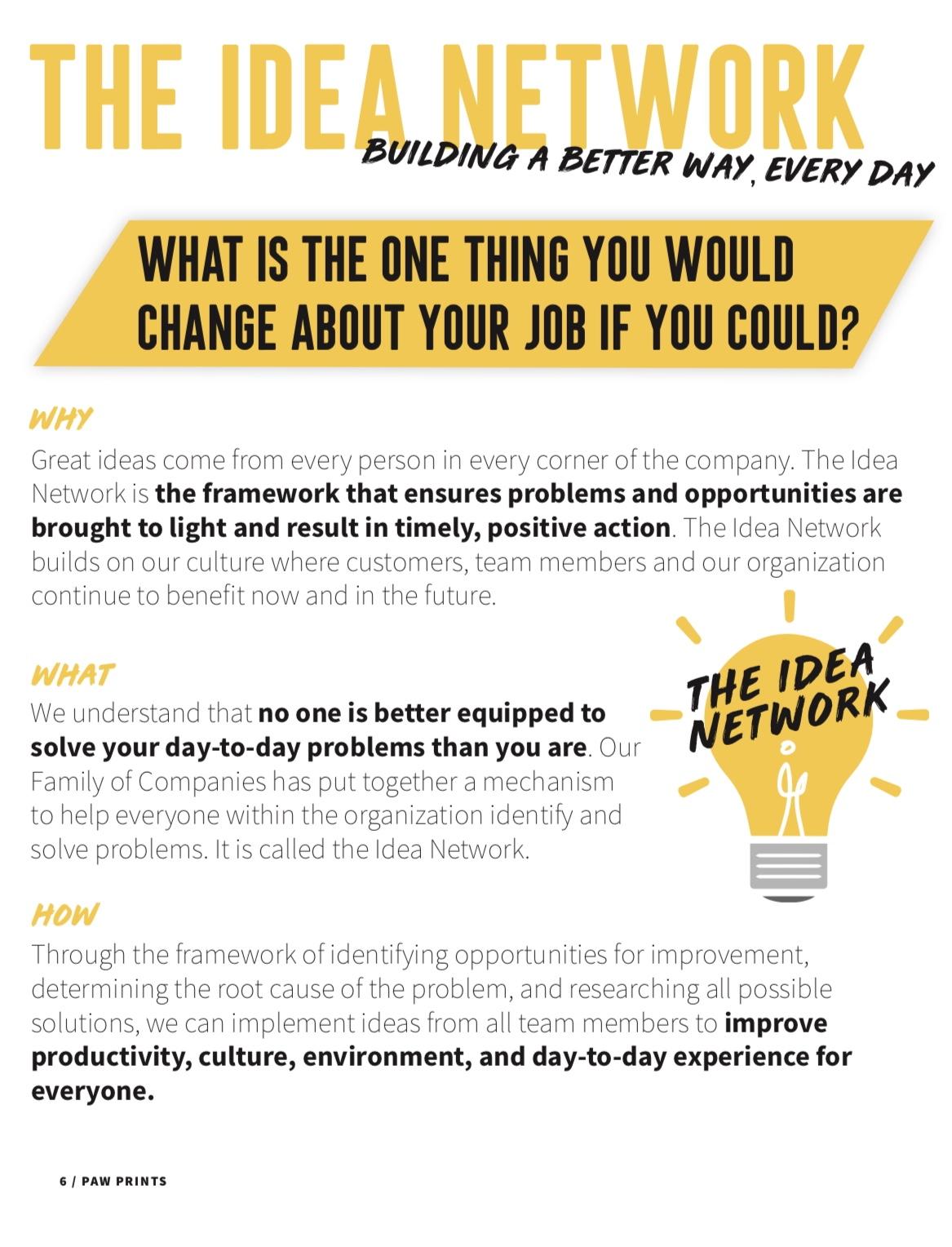 IDEA NETWORK CAMPAIGN