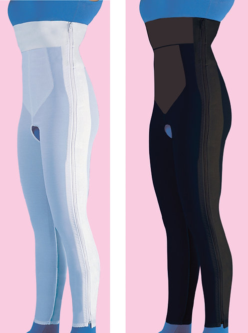 High Waist Compression Garment Ankle Length
