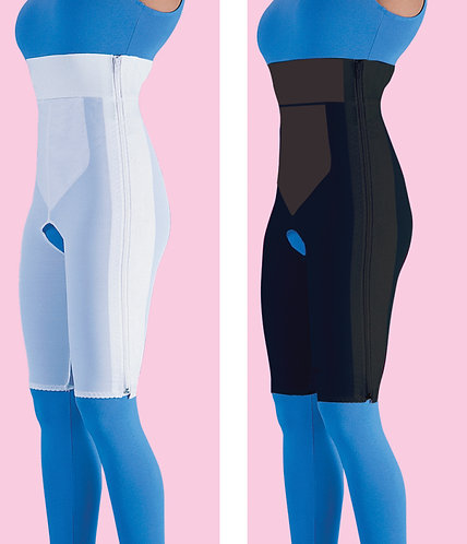 High Waist Compression Garment Above Knee