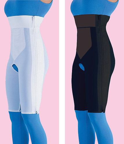 High Waist Compression Garment Above Knee