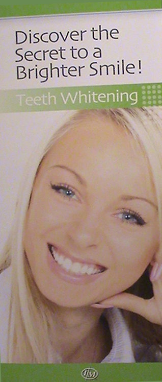 Teeth Whitening Patient Brochures