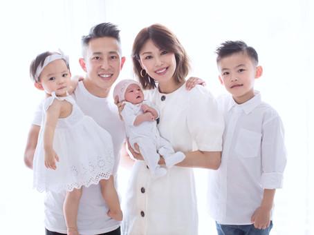 Lillian Ho(何嘉莉)'s Family Love