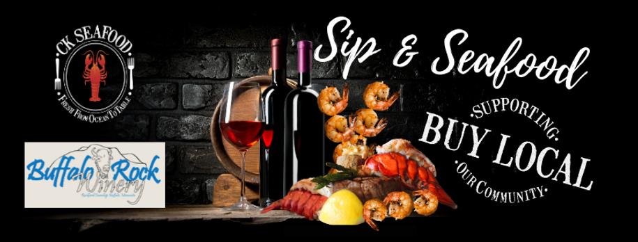Sip & Seafood CK SEAFOOD Event Header (1