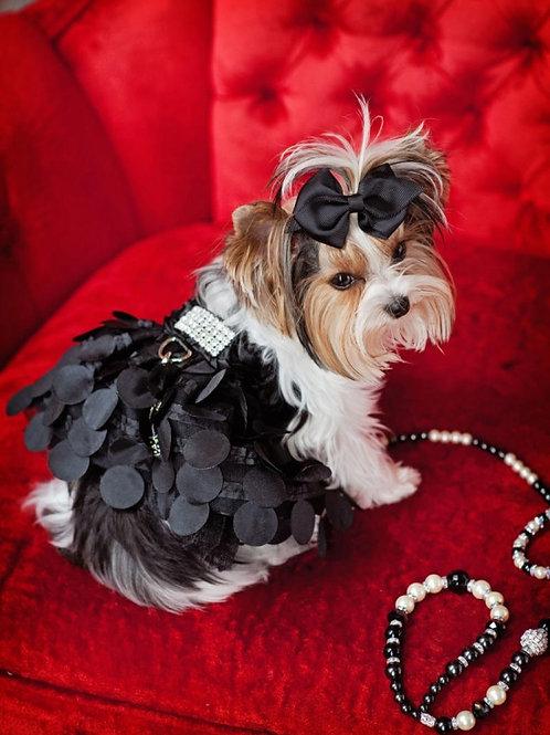 Designer Yvette Rutta  Black Party Dress TuTu