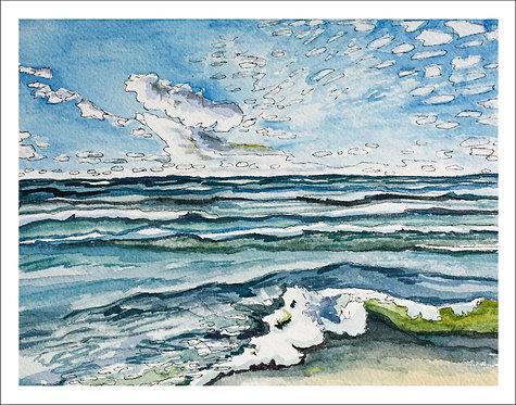 Lakeshore Landscape No. 1 - PRINT