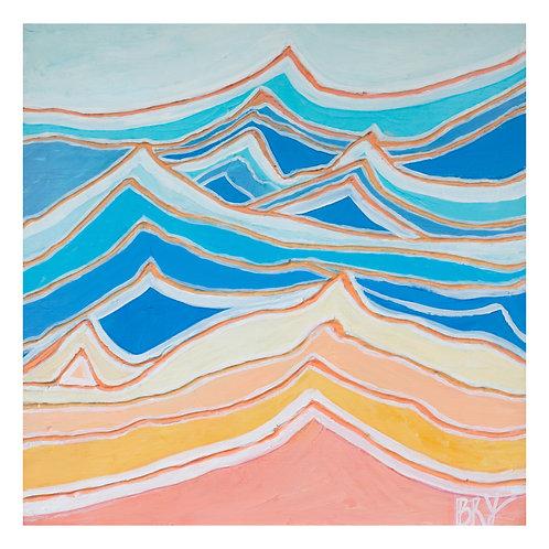 Rainbow Waves - Print