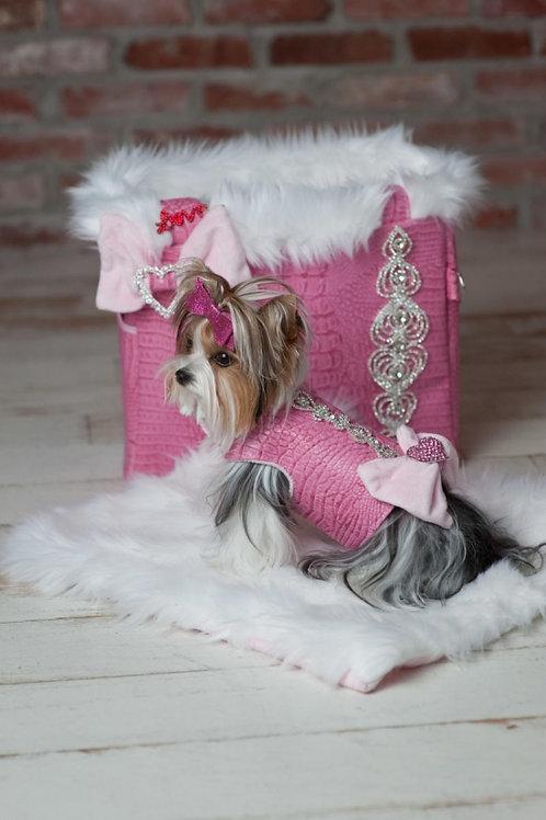 Pink Bubbles Princess 3 piece set Carrier