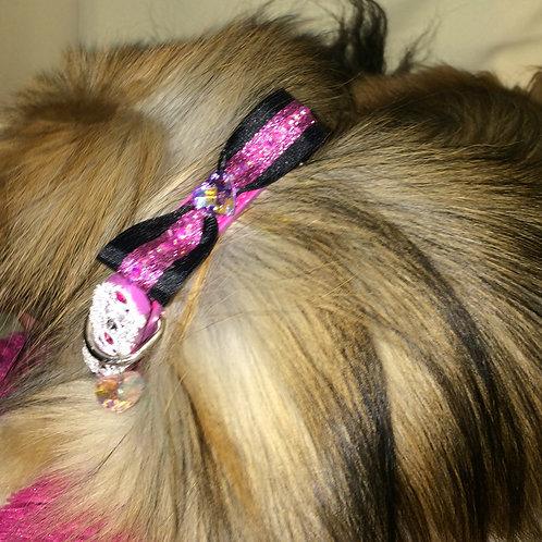 Adjustable Custom Dog Collar Small PU Leather With