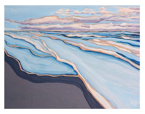 Evening Surf- Print