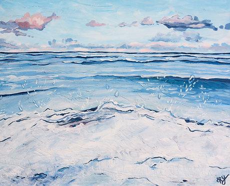 "Blue Morning - 24x30"""
