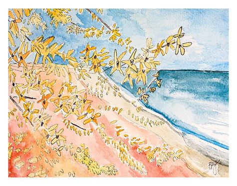Lakeshore Landscape No. 5 - PRINT