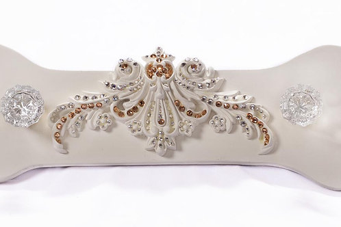 Luxyury Custom Leash holder w/ Swarovski Crystal