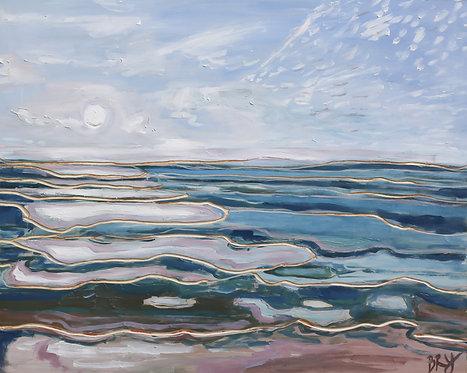 My Calm Lake - 16 x 20 (Framed)