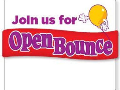 Open Bounce 4/13/2019 2pm to 4pm