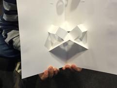 Box layers on v-folds!