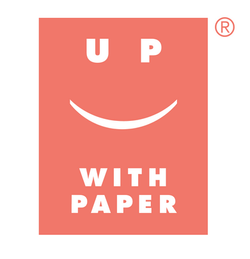 Up With Paper Logo