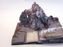 The Walking Dead Pop Up Book