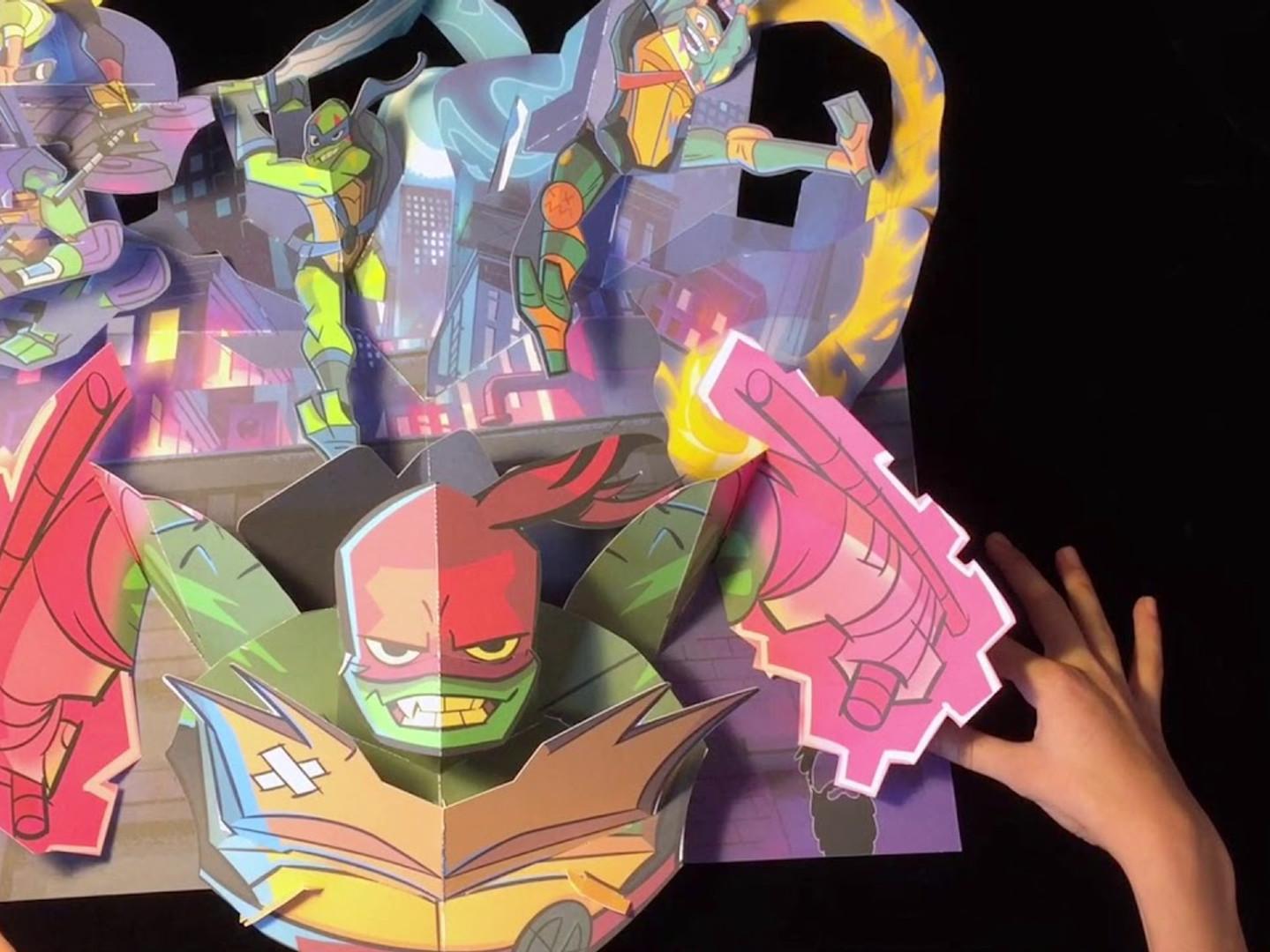 Rise of the Teenage Mutant Ninja Turtles Pop-Up Press Kit