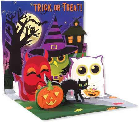 Trick or Treat Owls