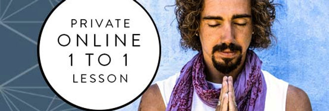 PRIVATE 1 TO 1 ONLINE MEDITATION LESSON