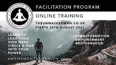 unmasked man facilitator training 20th A