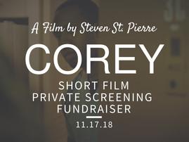 "Private Screening of ""COREY"""