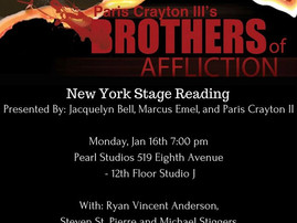 Staged Reading Brothers Of Affliction