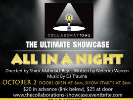 COLLABORATIONS the ULTIMATE SHOWCASE 10.2.18