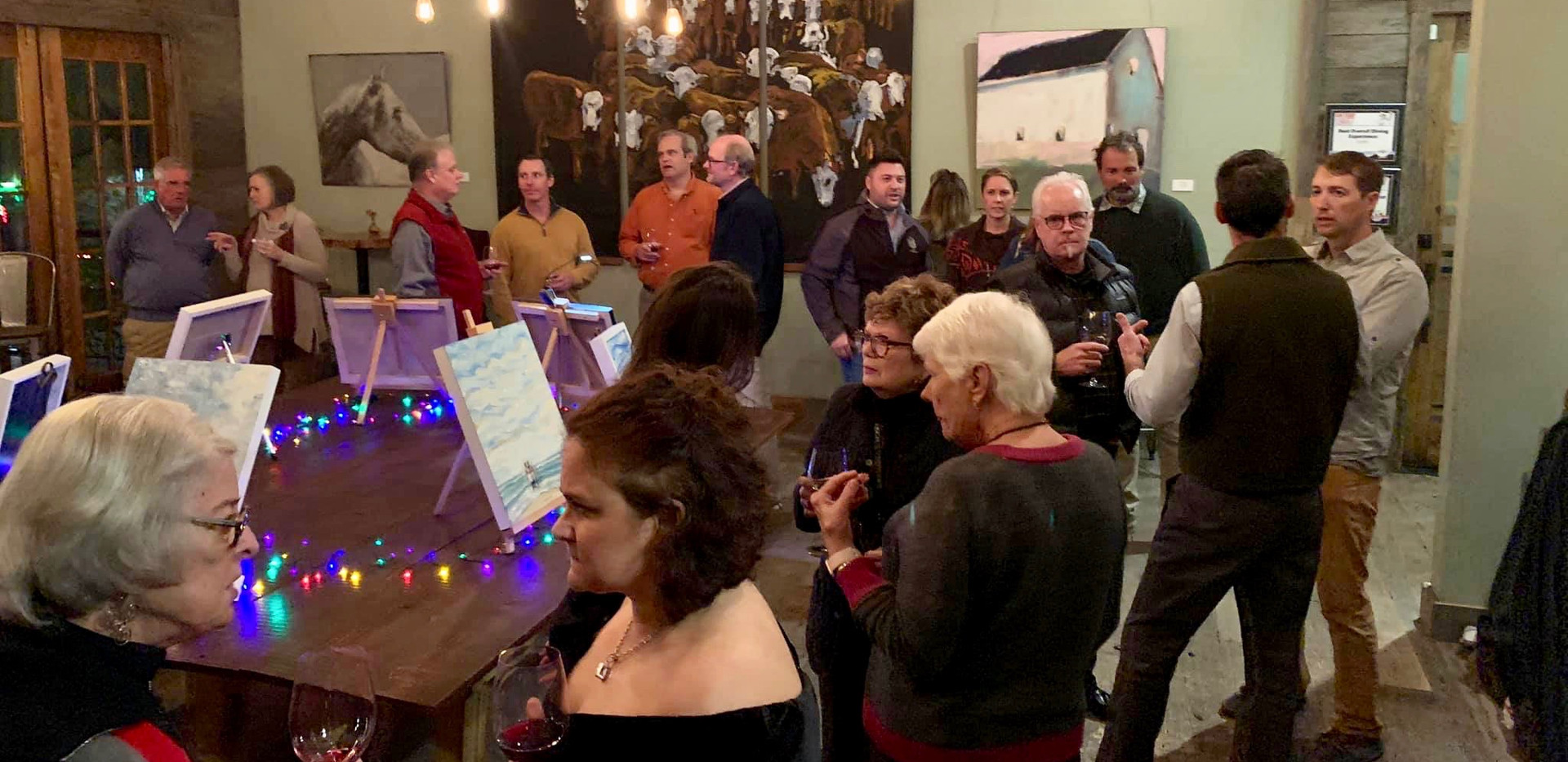 Maneline Artist Reception