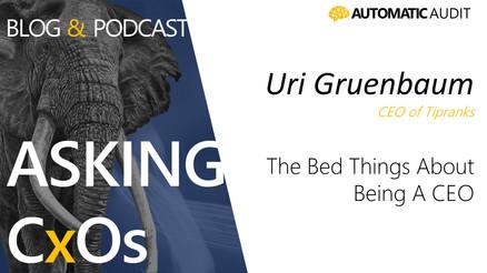 The Topics That No One Talks About   - Uri Gruenbaum