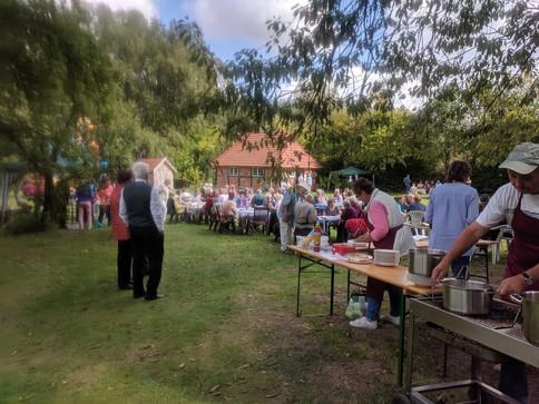 Fest im Pfarrgarten