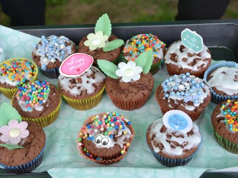 Ein Beispiel für die wunderbaren Kuchenspenden aus dem Verein und den Dörfern rund um die Scheune