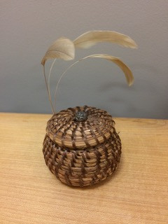 Olathe (beautiful) Pine Needle basket