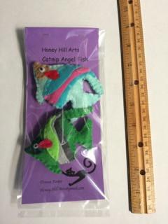 Angel Fish Catnip toys