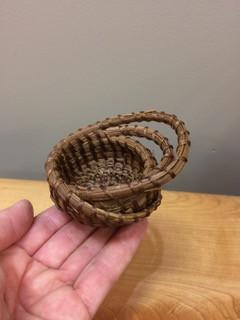 Tehya (Percious) Pine Needle Basketry