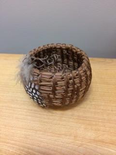 Snysie (silent little one) Pine Needle Basketry