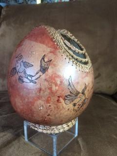 Pat (Fish) Gourd Art