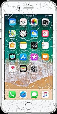iPhone 7 Plus - Naprawa zbitej szybki
