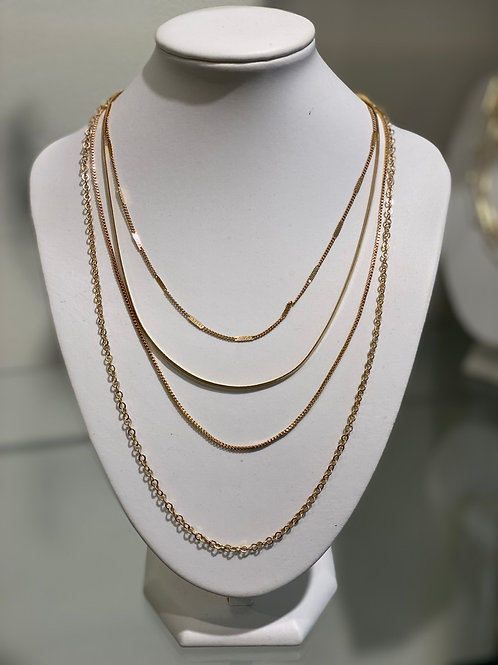 Snake Chain stack