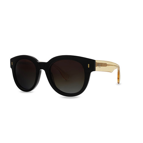 lux Acetate Frame Sunglasses